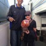 Kareem with Robbin Williams