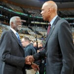 Kareem and Bill Russell