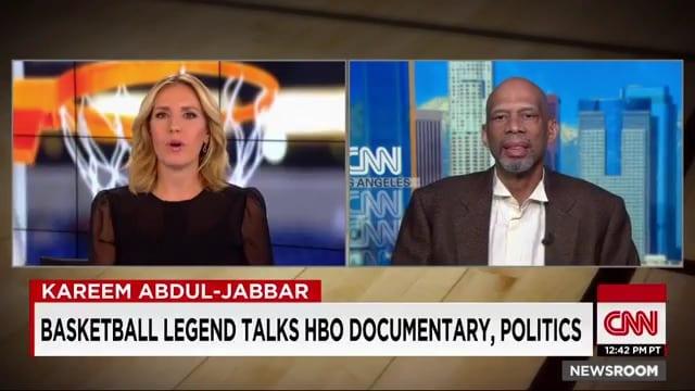 Kareem joins poppy harlow on cnn (video)