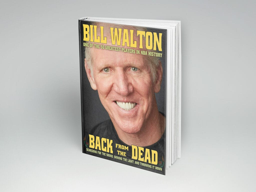 """""""back from the dead"""" by bill walton to be released on march 22, 2016. preorder today!"""
