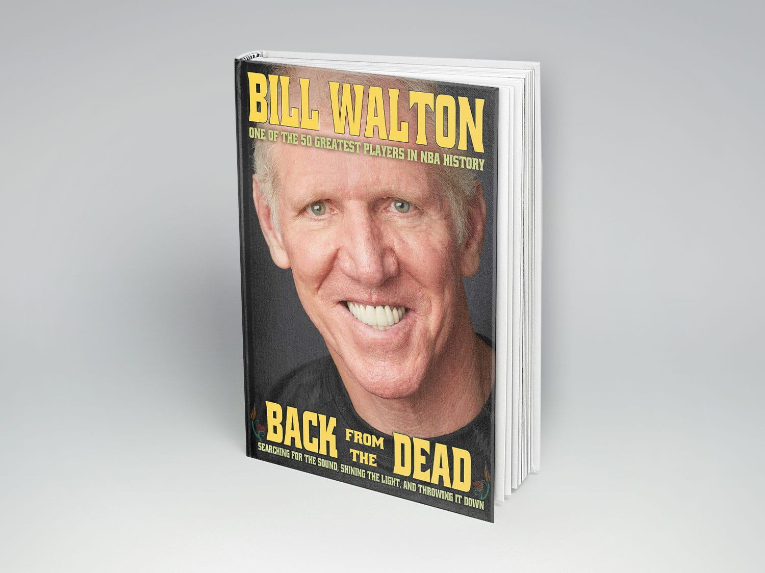 """back from the dead"" by bill walton to be released on march 22, 2016. preorder today!"