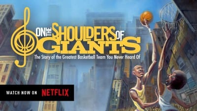 """on the shoulders of giants"" streaming now on netflix"