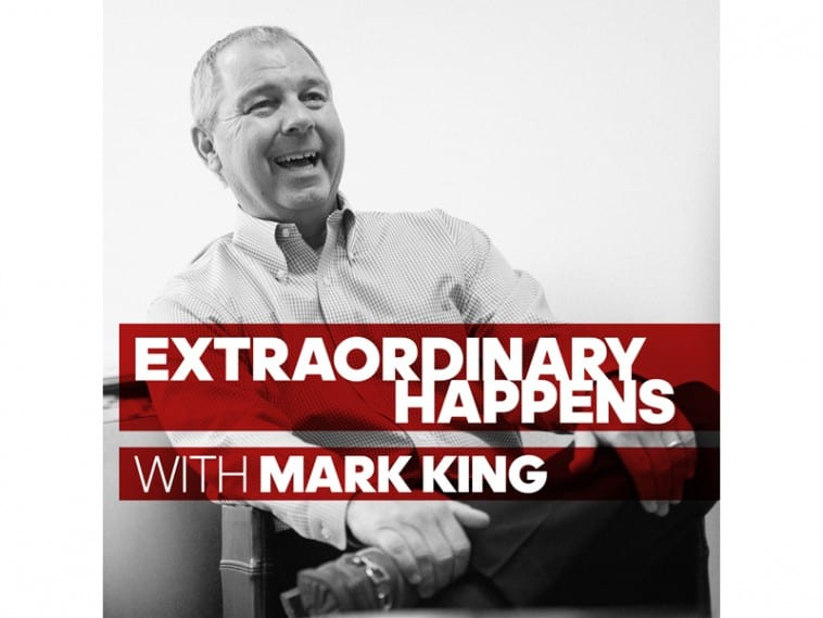 """Listen to kareem on the podcast """"extraordinary happens"""" with mark king"""