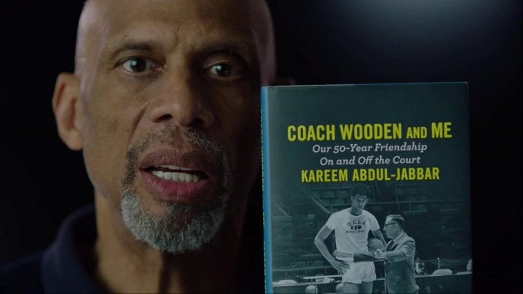 The 'nba on tnt' crew discusses kareem's new book 'coach wooden and me' (video)