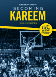 Legendary nba champ kareem abdul-jabbar to launch  live on-stage usa tour – becoming kareem  hosted by 7-time emmy award winning sports commentator roy firestone