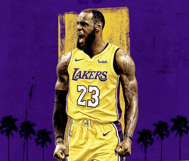 """Lebron james is """"right hero at right time"""" for l.a. (the hollywood reporter)"""