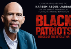 Congratulations to our #1 client and the champion of our hearts, kareem abdul-jabbar!